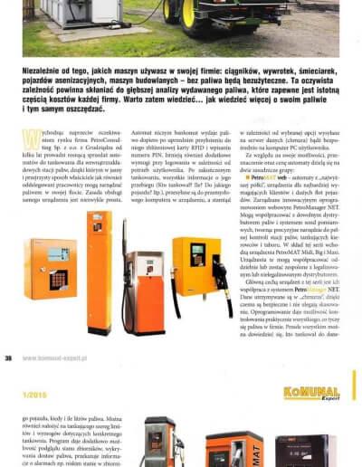 Kontroluj każdą kroplę paliwa z automatami web i scada