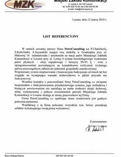 Miejski Zakład Komunikacji w Lesznie