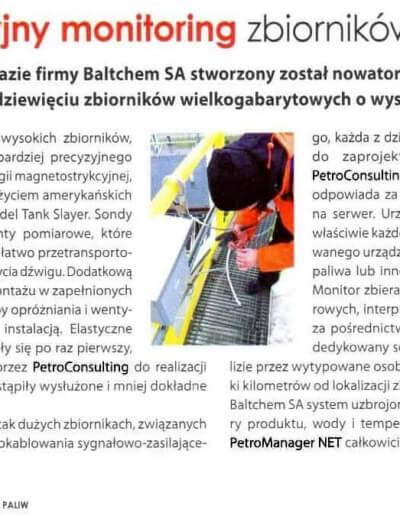 Innowacyjny monitoring zbiorników z paliwem