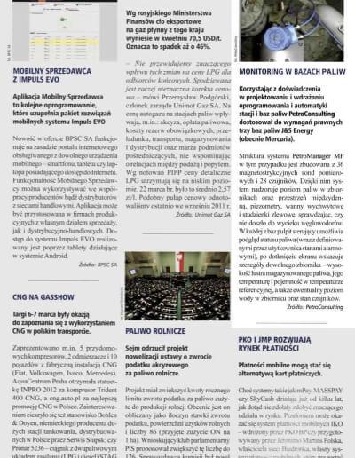 Notka prasowa o naszych instalacjach w bazach paliwowych J&S Energy