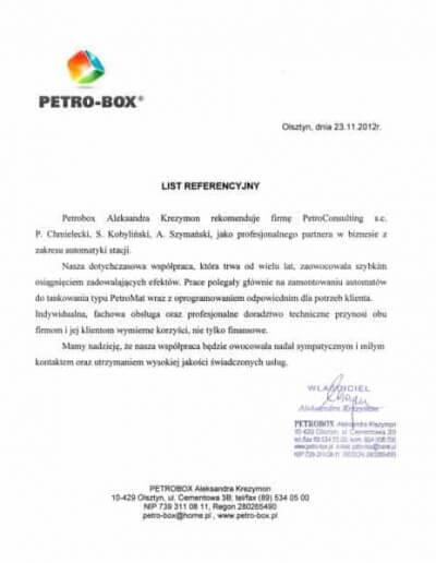 PETRO-BOX Olsztyn