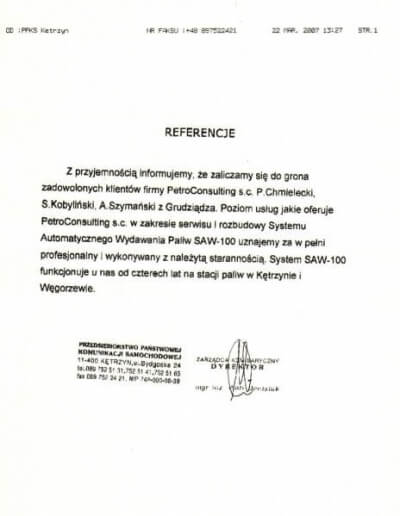 PKS Kętrzyn, obecnie Veolia