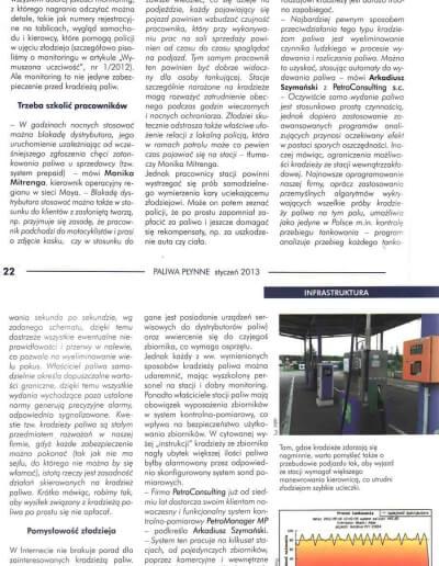Artykuł o zabezpieczeniach przed kradzieżami na stacjach paliw