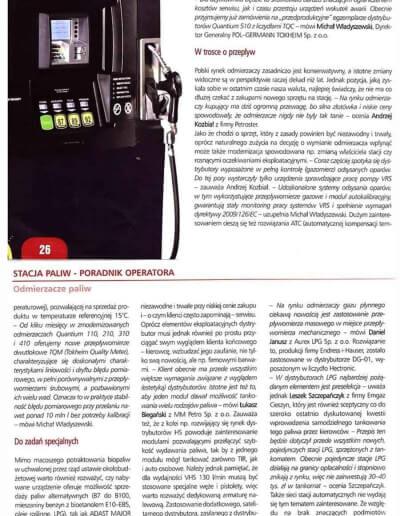 Nowości i trendy w zakresie dystrybutorów paliw i automatów