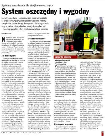 Najlepsze rozwiązania do bezobsługowego, automatycznego wydawania paliw i płynów eksploatacyjnych