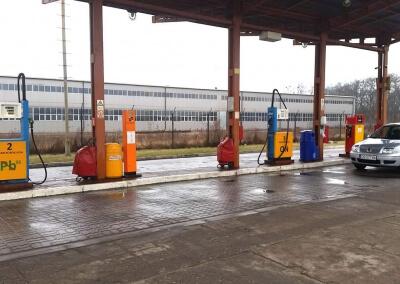 Automat do samoobsługowego tankowania – PetroMAT midi web – MZK Grudziądz