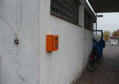 Dystrybutor do biopaliwa B100 oraz automat do tankowania – Gostynin PKS
