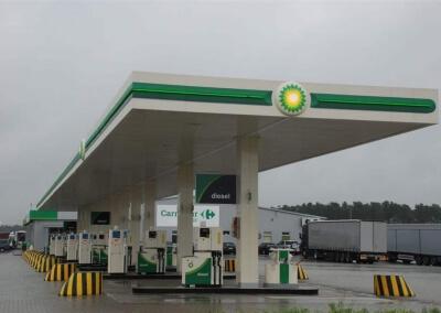 Instalacja sterownika dystrybutorów paliwa i AdBlue dla BP Port Świecko