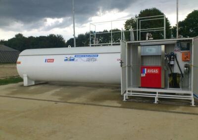 Automat do tankowania PetroMAT Midi – Aeroklub Lubelski