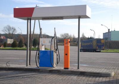 Automatyczna stacja paliw w Las Vegas Center – Mostki