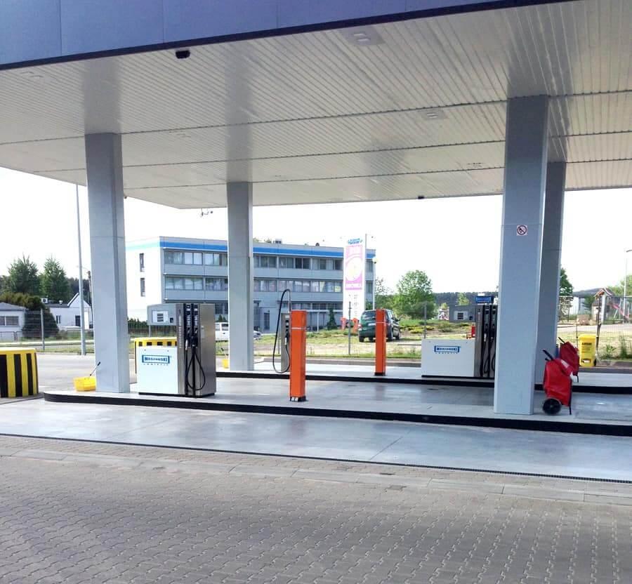 Bezobsługowe wydawanie paliw dla 420 pojazdów w Maszoński Logistic