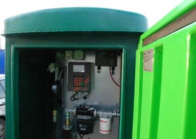 Zbiornik na paliwo 5000 z dystrybutorem i automatem