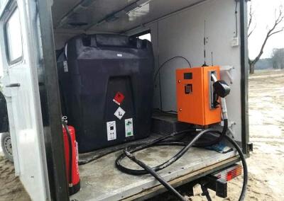 Uruchomienie 4 automatycznych stacji paliw dla Grupy DIREX