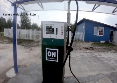 Tankomat rozliczanie paliw kamera