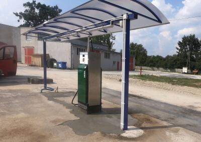 Tankomat w dystrybutorze paliw