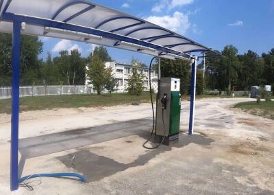 Remont stacji paliw w TKSM Biała Góra