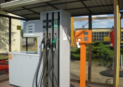 System PetroManager z drukarką paragonów – MZK Leszno