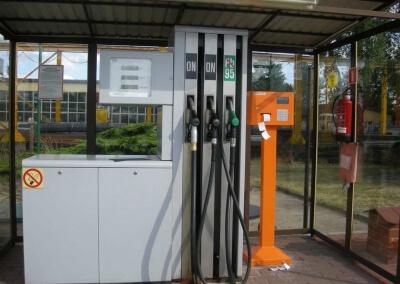 Dystrybutor PetroMulti i Tankomat z drukarka paragonow MZK Leszno