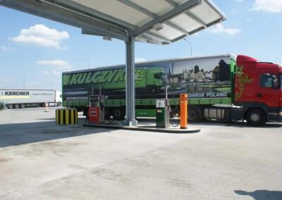Automaty do sprzedaży paliw działające w sieci E100