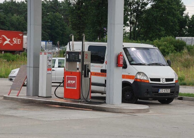 automat do wydawania paliw dla sieci ATP