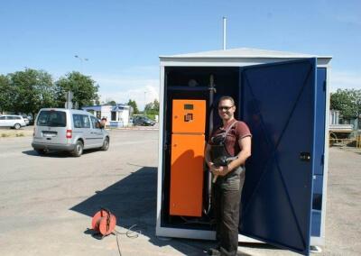 Uruchomienie 35 automatycznych stacji paliw dla SKANSKA S.A.