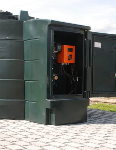 Zbiorniki do paliwa 5000 litrów z automatem do paliwa