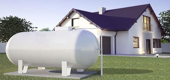 Gdzie mogę postawić naziemny zbiornik paliwa?