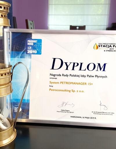 Nagroda PIPP za program do Precyzyjnego Rozliczania Paliw w 2019