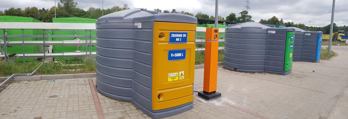PRONATURA Bydgoszcz – zbiorniki 5m3 na ON i AdBlue + 4 PetroMATy