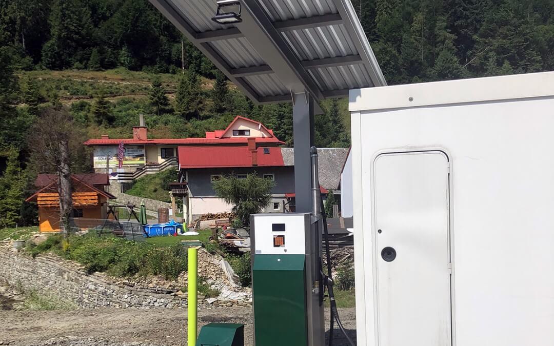 Szczyrkowski Ośrodek Narciarski – automatyczna stacja paliw do tankowania ratraków