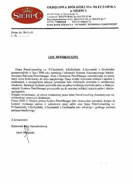 Okręgowa Spółdzielnia Mleczarska w Sierpcu