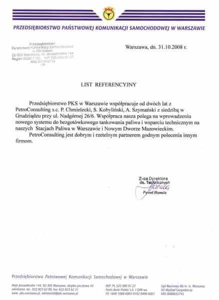 PKS Warszawa, obecnie POLONUS