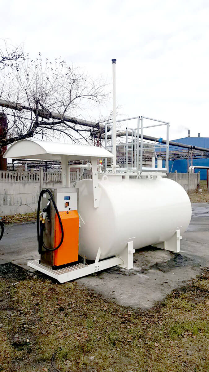 Automat do tankowania w zbiorniku na paliwo dla ArcelorMittal Poland S.A